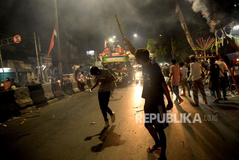 1.116 Personil di Bandung Diterjunkan Saat Malam Takbiran (ilustrasi).