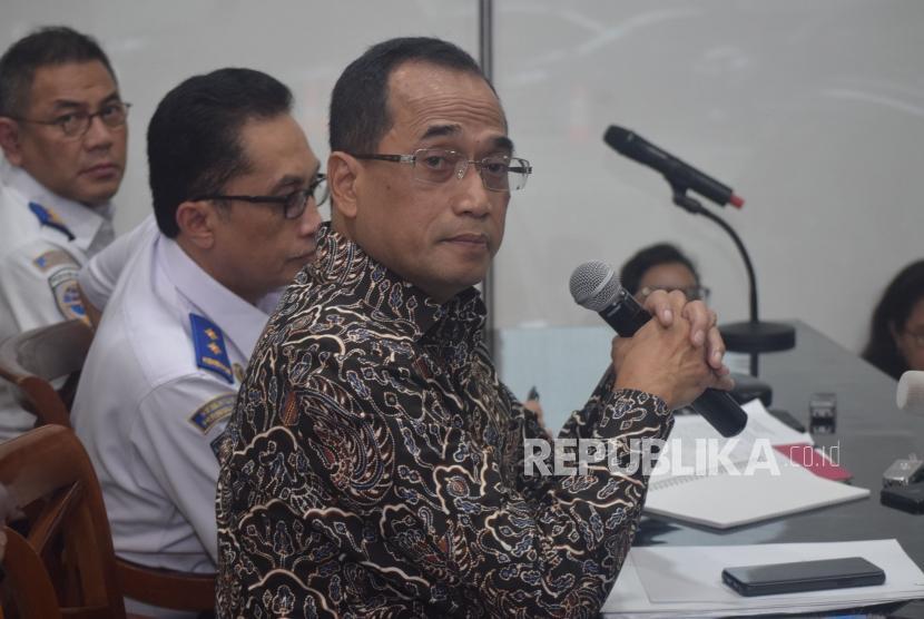 Menteri Perhubungaan Budi Karya Sumadi