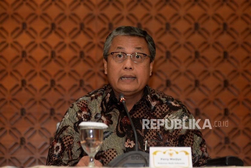 Bank Indonesia (BI) Governor Perry Warjiyo