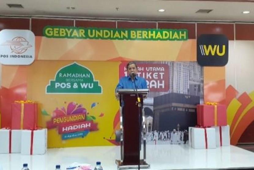 15 Pelanggan Pos Indonesia dan Western Union Raih Hadiah Umrah Gratis