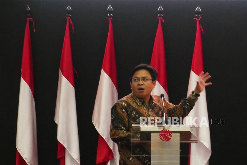 Direktur Eksekutif Indikator Poitik Indonesia Burhanuddin Muhtadi