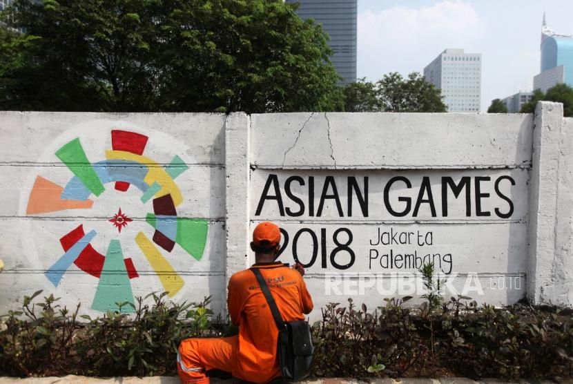 Mural Ondel Ondel Semarakkan Demam Asian Games Republika Online