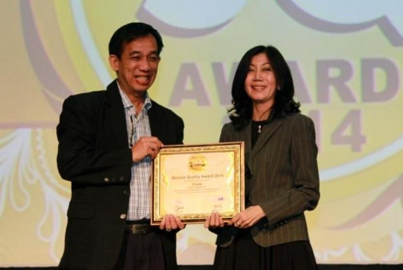 """AHM Raih Penghargaan Terbaik """"Service Quality"""""""