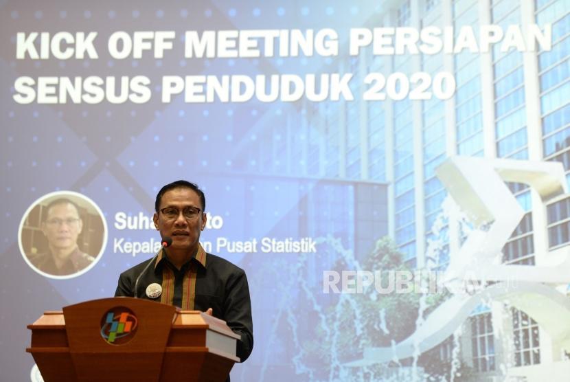 Head of the Central Bureau of Statistics (BPS) Suhariyanto
