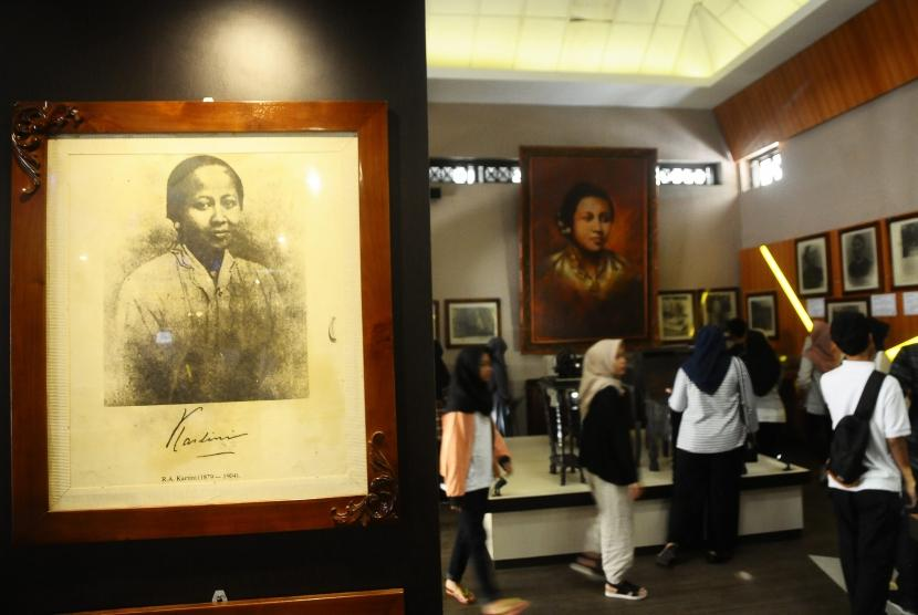 Museum Kartini di Alun-alun Kota Jepara, Jawa Tengah.