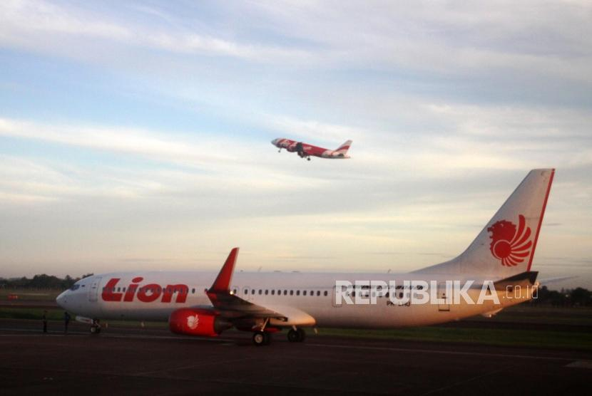 Pesawat Lion Air  (ilustrasi)