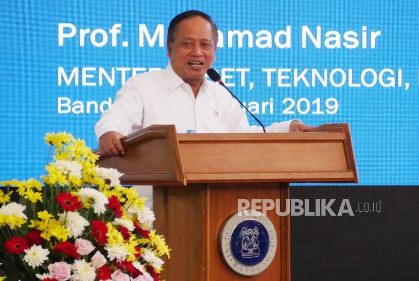 Menteri Riset Teknologi dan Pendidikan Tinggi, Mohamad Nasir.