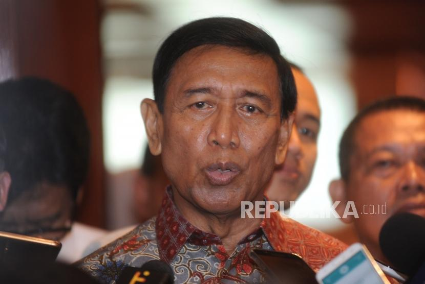 Coordinating Minister for Political, Legal and Security Affairs Wiranto