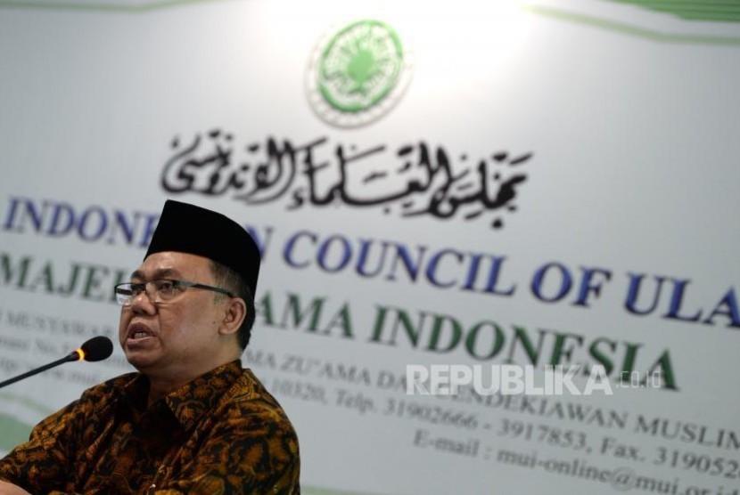 Kepala Puslitbang Bimbingan Masyarakat Agama dan Layanan Keagamaan, Balitbang Pendidikan dan Pelatihan pada Kemenag, Muharram Marzuki.