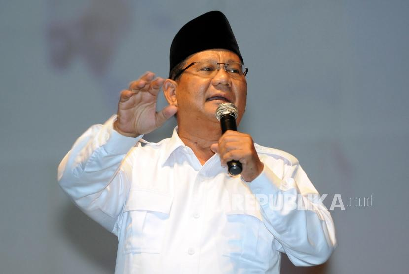 Ketua Umum Partai Gerindra - Prabowo Subianto