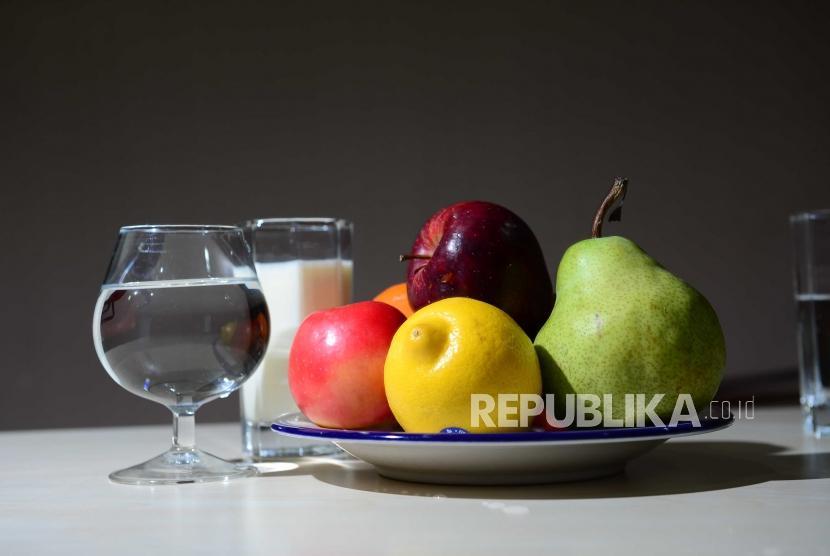 Ilustrasi Konsumsi buah-buahan