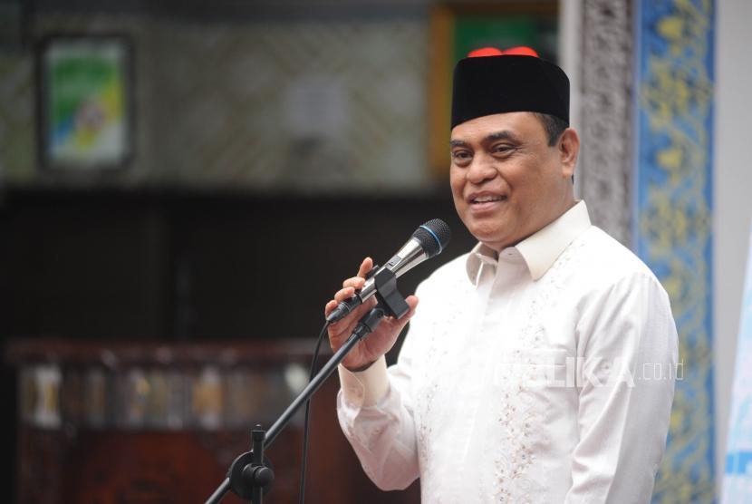 Wakil ketua umum Dewan Mesjid Indonesia (DMI), Komjen Pol Syafruddin.