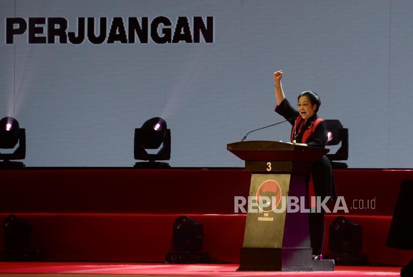 Ketua Umum PDIP Megawati Soekarnoputri