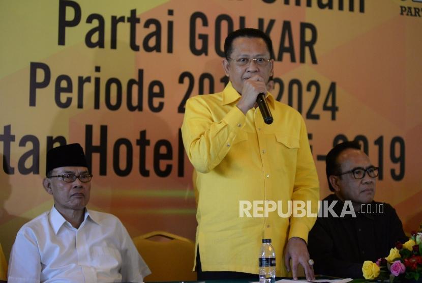 Wakil Koordinator Bidang Pratama DPP Partai Golkar Bambang Soesatyo