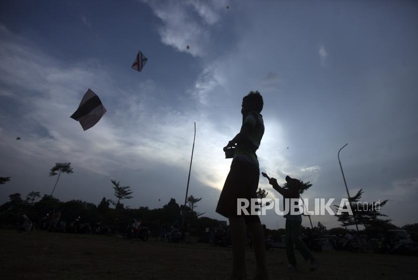 Festival layang-layang (ilustrasi)