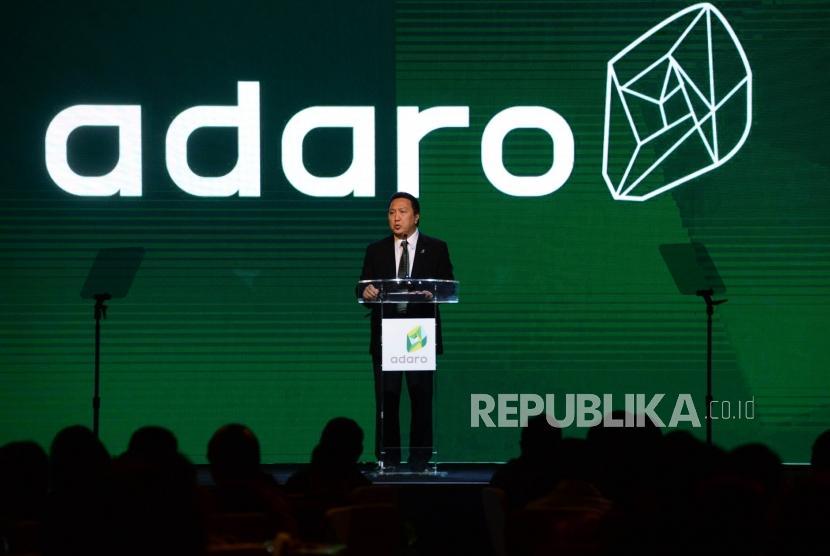 Presiden Direktur PT Adaro Energy Tbk (Adaro) Garibaldi Thohir.