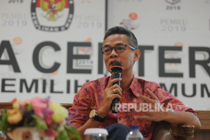 Komisioner KPU RI Wahyu Setiawan
