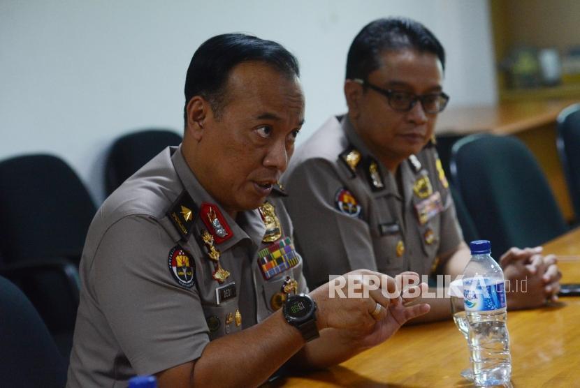 Kepala Biro Penerangan Masyarakat Divisi Humas Polri Brigjen Dedi Prasetyo