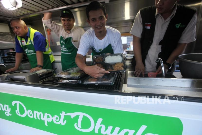 Menu makanan yang akan disajikan di Dapur Keliling Dompet Dhuafa (ilustrasi)
