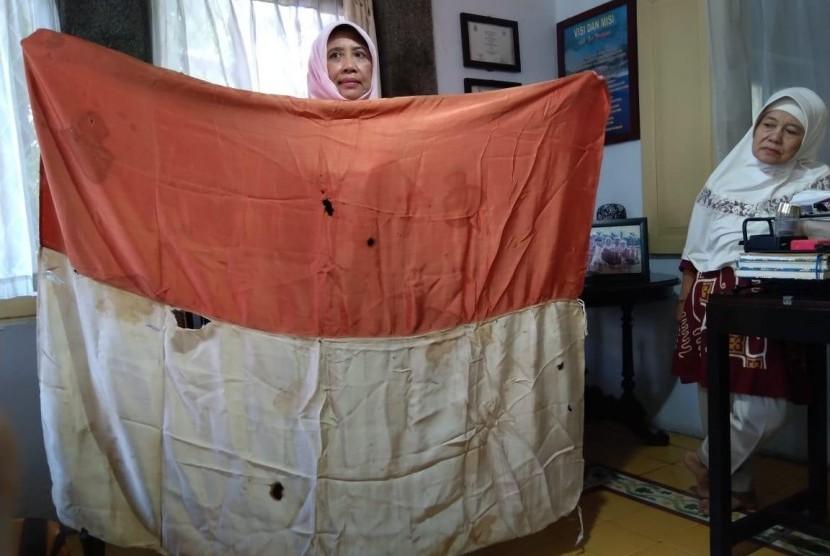 Kisah Bendera Merah Putih Tertua di Kota Cirebon