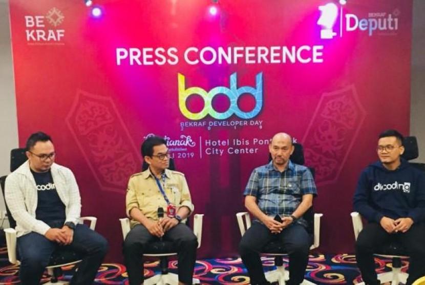 Bekraf  Dorong Kontribusi Industri Kreatif Digital di Kalimantan Barat. (FOTO: Bekraf)