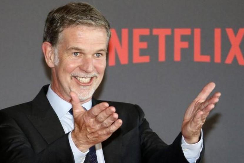 Kisah Sukses CEO Netflix, Berawal dari Rental DVD. (FOTO: Variety)