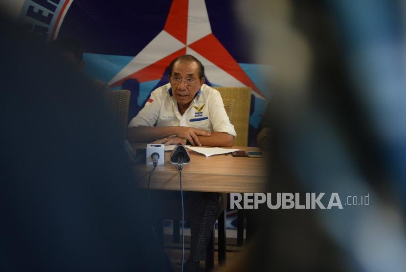Politisi senior Partai Demokrat Max Sopacua.