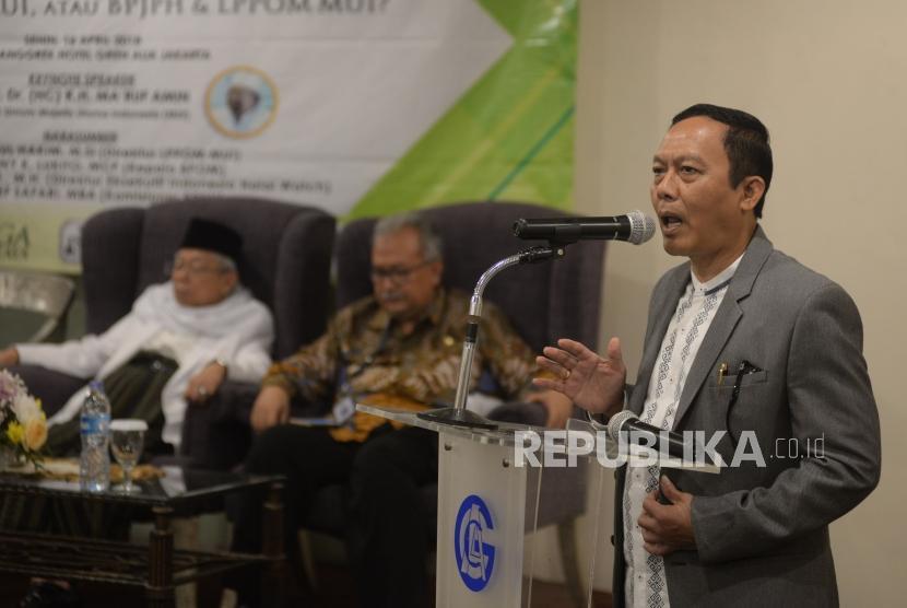 Direktur Eksekutif Indonesia Halal Watch Ikhsan Abdullah