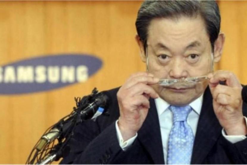 Miliki Harta Rp234 Triliun, Hidup Bos Samsung Digelayuti Banyak Masalah. (FOTO: Istimewa)