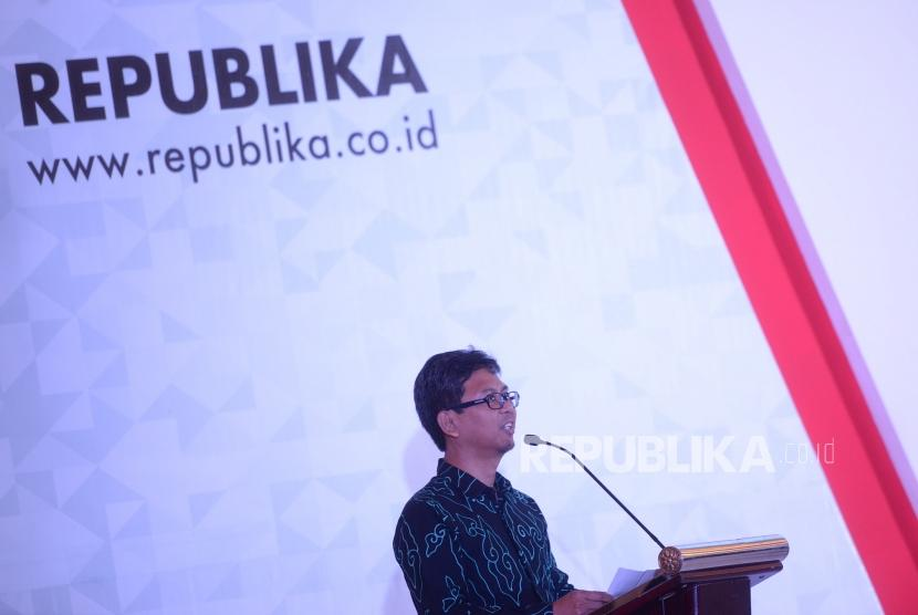 Direktur PT Pustaka Abdi Bangsa (Republika Penerbit) Arys Hilman Nugraha.