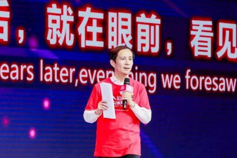 Sosok Daniel Zhang, Tokoh Ulung Alibaba yang Gantikan Jack Ma. (FOTO: Alibaba)