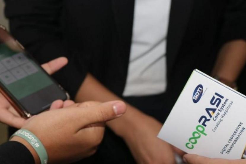 Platform Ini Siapkan Koperasi Hadapi Disrupsi Digital. (FOTO: Arif Hatta)