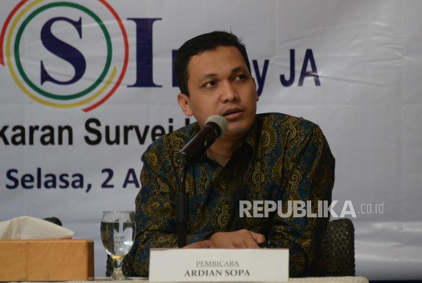 Peneliti LSI Denny JA Ardian Sopa.