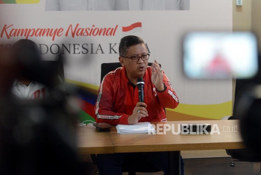 Sekretaris TKN Hasto Kristiyanto