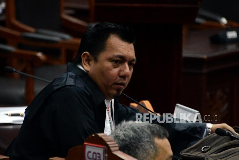 Kuasa Hukum Calon Presiden dan Wakil Presiden nomor urut 01 Ade Irfan Pulungan