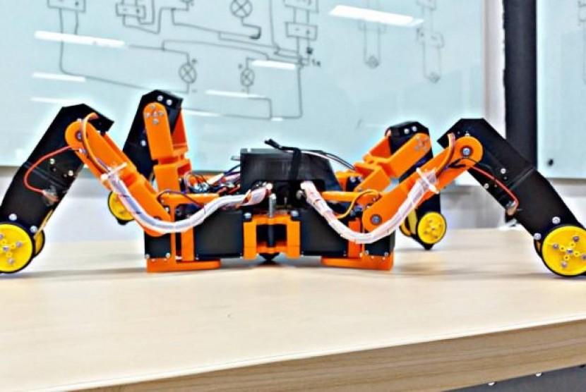 Mahasiswa Atma Jaya Kembangkan Robot Pendeteksi Gempa. (FOTO: Atma Jaya)