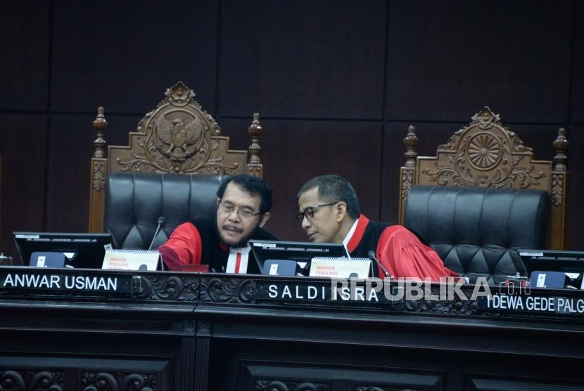 Ketua Majelis Hakim Mahkamah Konstitusi (MK) Anwar Usman