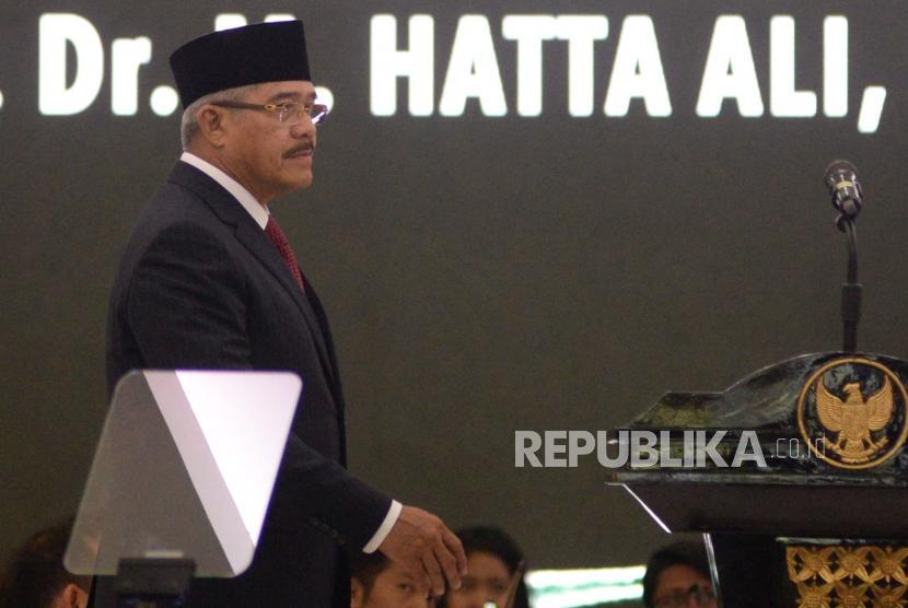 Ketua Mahkamah Agung Hatta Ali