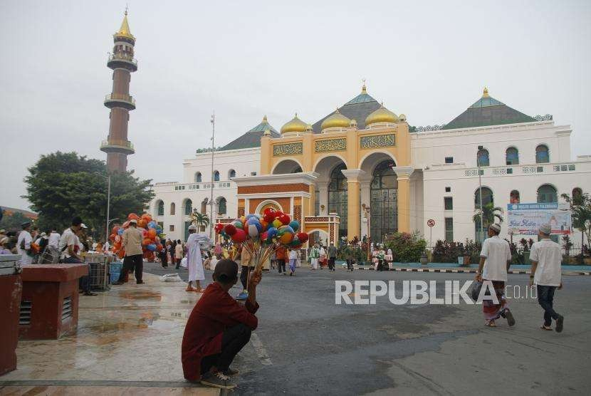 Shalat Idul Adha di Palembang. (ilustrasi)