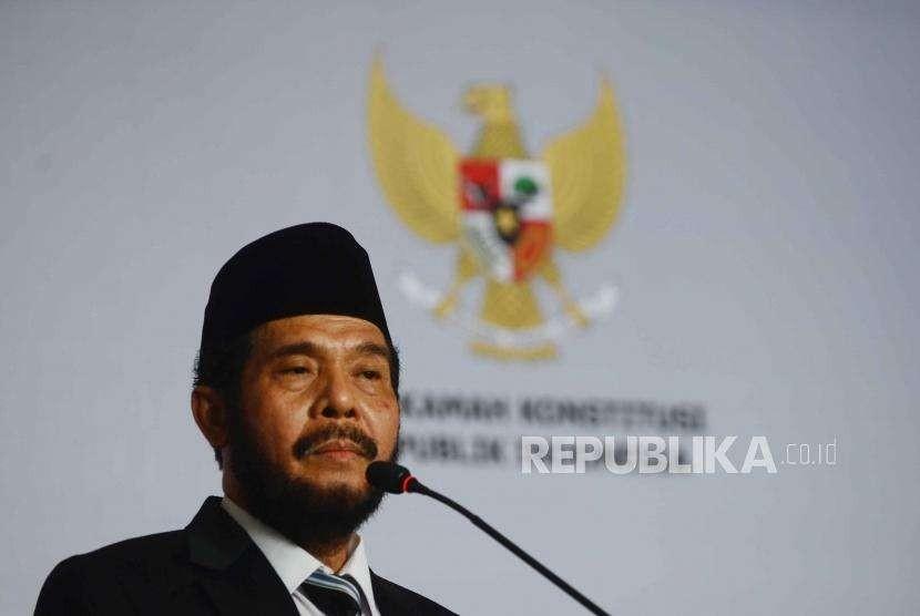 Ketua Mahkamah Konstitusi, Anwar Usman.