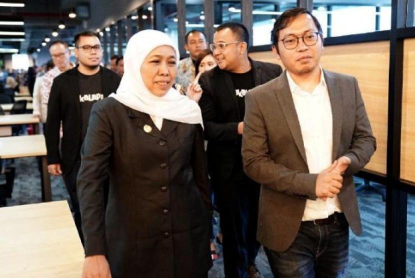 Achmad Zaky Buka Suara Terkait Aksi PHK Massal Bukalapak. (FOTO: WE)