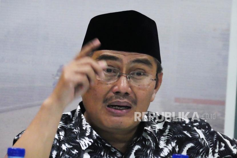 Ketua Umum Ikatan Cendekiawan Muslim Indonesia (ICMI) Jimly Assidiqie.