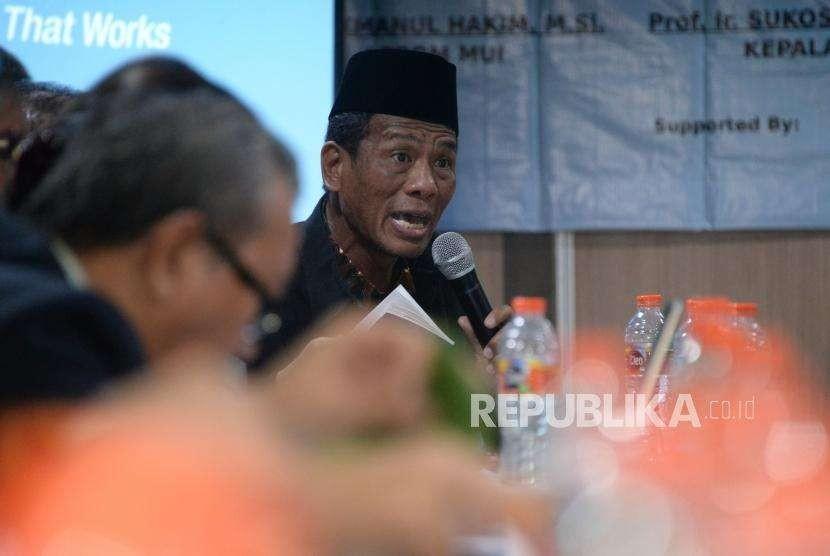 Kepala Badan Penyelenggara Jaminan Produk Halal (BPJPH)  Sukoso