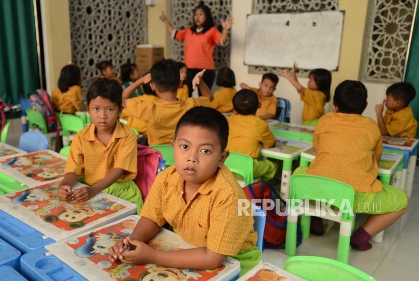 Sejumlah murid PAUD. (Ilustrasi)