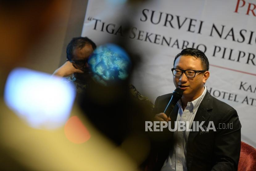Anggota DPR dari Fraksi Partai Gerindra, Aryo Hashim Djojohadikusumo