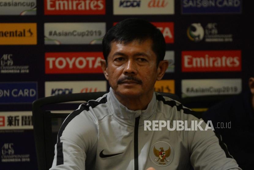 Pelatih Indonesia, Indra Sjafri.