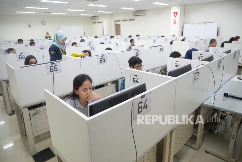 Ujian Seleksi Bersama Masuk Perguruan Tinggi Negeri (SMBPTN) / Ilustrasi