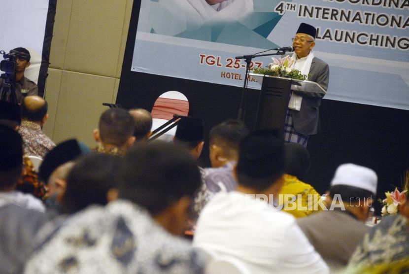 Wakil Presiden RI terpilih KH Ma'ruf Amin