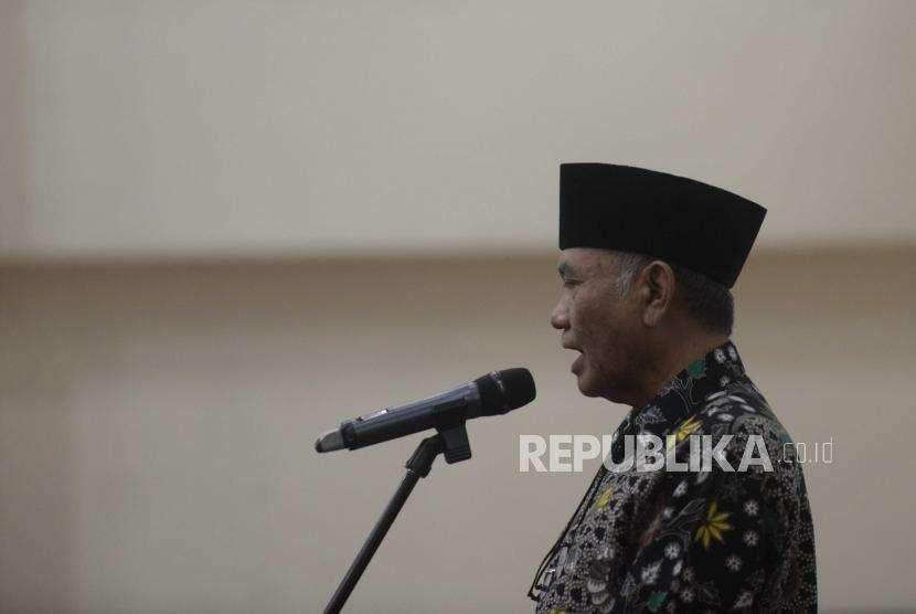 Ketua KPK, Agus Raharjo