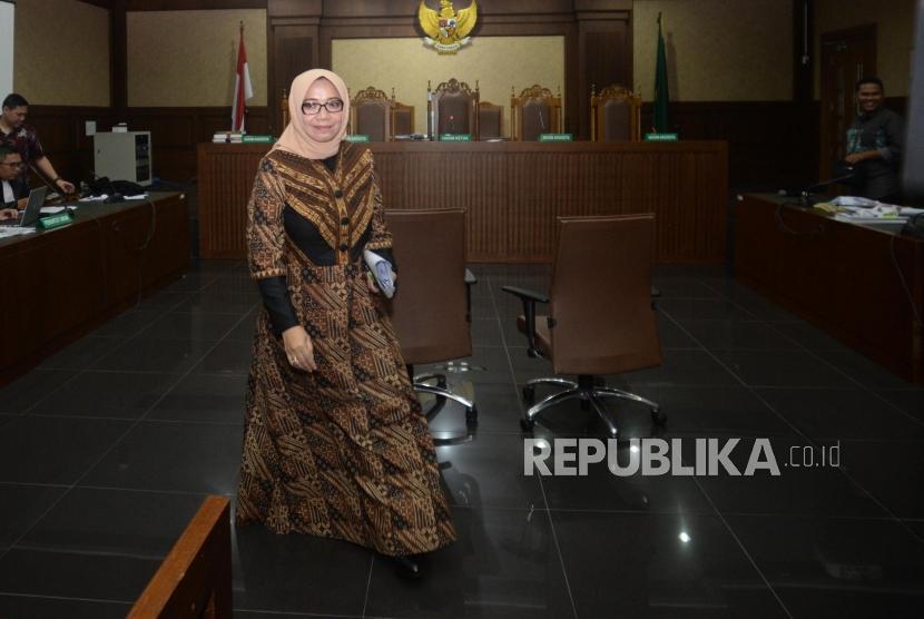 Terdakwa kasus dugaan suap PLTU  Riau-1 Eni Saragih